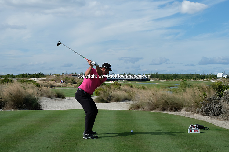 John Rahm during the second round of the 2018 Hero World Challenge being played at The Albany Resort, Bahamas.<br />  Picture Stuart Adams, www.golftourimages.com: \30/11/2018\