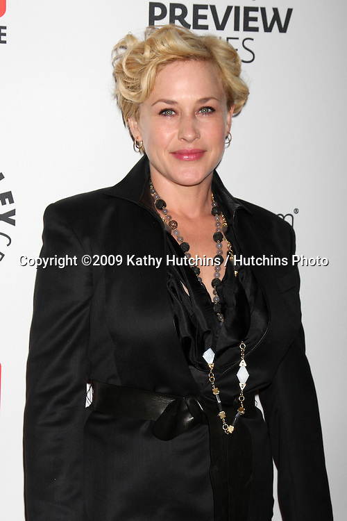 Patricia Arquette  arriving at the PaleyFest:  CBS Fall TV Preview at the Paley Center for Media in Beverly Hills, CA on September 10, 2009.©2009 Kathy Hutchins / Hutchins Photo