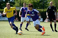 UITHUIZEN - Voertbal, RWE Eemsmond - FC Groningen, voorbereiding seizoen 2018--2019, 30-06-2018, FC Groningen speler Ritsu Doan