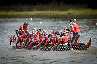 De danske dragekvinder sluttede af med bravour! De vandt deres sidste heat med en ny bedste tid på 2 minutter og 36 sekunder i et løb mod to hold fra USA og to hold fra Canada. Today is raceday number two.  IBCPC Dragon Boat Festival i Firenze er en dragebådsfestival for brystkraftramte kvinder. Copenhagen Dragonboat Team deltager med godt 20 kvinder i alderen fra 25 til 62.<br /> <br /> Foto: Jens Panduro<br /> <br /> The IBCPC Dragon Boat Festival is held every four years under the auspices of the International Breast Cancer Paddler's Commission. The Festival is an international non-competitive participatory event targeting Breast Cancer Survivors teams who engage in Dragon Boat activities as post-operative rehabilitation. Born from the idea of a Canadian sports medicine physician, Doctor Don McKenzie about twenty years ago, Dragon Boat paddling has become a rehabilitation therapy for tens of thousands of men and women worldwide, who have undergone surgery.<br /> For the first time since its institution in 2005, the IBCPC FESTIVAL will be held in Europe – in Italy!! The Florence 2018 Festival will involve 129 teams from 17 countries , and for the very first time ALL the continents are represented.<br /> Organised and promoted by FIRENZE IN ROSA Onlus as the official Organising Committee, the Florence Festival will be a sporting event but above all a social occasion in which Florence will welcome from 4,000 to 5,000 people from all over the world. The participants are mainly women between the ages of 20 and 80, who will meet to take part in the exciting Dragon Boat races, paddling together on the Arno. They will also be accompanied by their friends and family, their faithful and enthusiastic supporters.