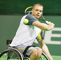 14-02-13, Tennis, Rotterdam, ABNAMROWTT, Maikel Scheffers