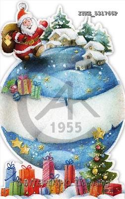 Isabella, CHRISTMAS SANTA, SNOWMAN, paintings(ITKE531766,#X#) Weihnachtsmänner, Schneemänner, Weihnachen, Papá Noel, muñecos de nieve, Navidad, illustrations, pinturas