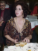Elizabeth Taylor 1974<br /> Photo to By John Barrett/PHOTOlink/MediaPunch