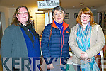 History Ireland Hedge School: Attending the History Ireland Hedge School presentation at the Seanachi Centre, Listowel on Friday nigh last were Martina flynn, Kay Caball & Claudia Kohler , Kerry County Museum.