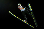 Thomas Morgenstern of Austria during the Men's Normal Hill Individual of the 2014 Sochi Olympic Winter Games at Russki Gorki Ski Juming Center on February 9, 2014 in Sochi, Russia. Photo by Victor Fraile / Power Sport Images