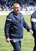 Queen of the South Assistant Manager Sandy Clark before the SPFL Ladbrokes Championship Play Off semi final match between Queen of the South and Montrose at Palmerston Park, Dumfries on 11.5.19.