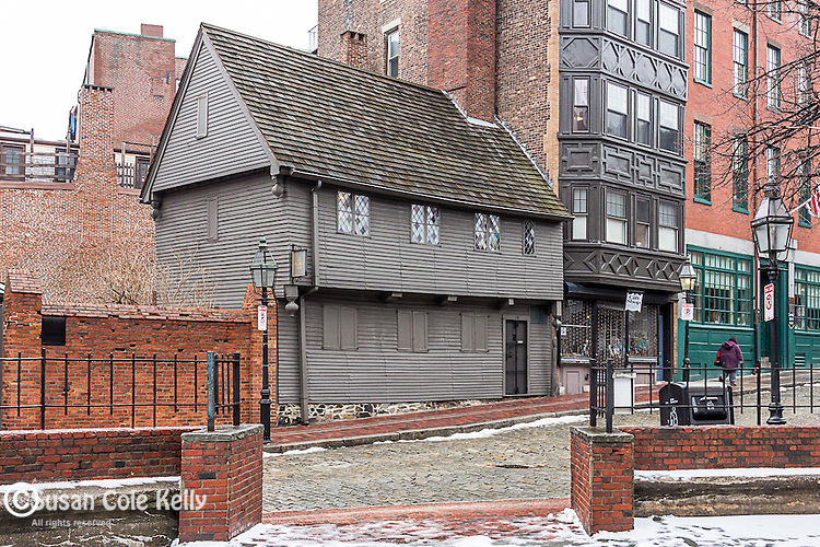 The Paul Revere House, Boston National Historical Park, Boston, Massachusetts, USA