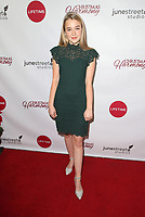 """LOS ANGELES, CA - NOVEMBER 7: Macy Friday, at Premiere of Lifetime's """"Christmas Harmony"""" at Harmony Gold Theatre in Los Angeles, California on November 7, 2018. Credit: Faye Sadou/MediaPunch"""