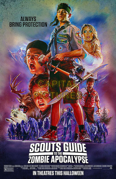 Scouts Guide to the Zombie Apocalypse (2015) <br /> ONE SHEET POSTER ART<br /> *Filmstill - Editorial Use Only*<br /> CAP/FB<br /> Image supplied by Capital Pictures