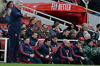 West Ham Manager David Moyes during Arsenal vs West Ham United, Premier League Football at the Emirates Stadium on 7th March 2020