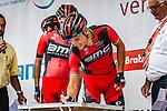 Phillipe GILBERT (BEL, BMC) signing on, Stage 4 Hotel Verviers - La Gileppe (Jalhay), België, Ster ZLM Toer, Gileppe Belgium, 21th June 2014, Photo by Thomas van Bracht / Peloton Photos