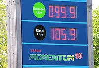 Morrisons Petrol Station selling unleaded petrol at 99.9p per litre, the first time since 2016 petrol has been sold below £1 per litre.<br /> The global oil market crash triggered by the coronavirus lockdown has seen the crude oil price plummet to a near 20 year low.†Now, led by UK Supermarket chains, Unleaded petrol is now on sale throughout the country at below £1 per litre. Bedford, UK May 16th 2020†<br /> CAP/ROS<br /> ©ROS/Capital Pictures
