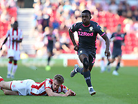 Leeds United's Edward Nketiah<br /> <br /> Photographer Stephen White/CameraSport<br /> <br /> The Premier League - Stoke City v Leeds United - Saturday August 24th 2019 - bet365 Stadium - Stoke-on-Trent<br /> <br /> World Copyright © 2019 CameraSport. All rights reserved. 43 Linden Ave. Countesthorpe. Leicester. England. LE8 5PG - Tel: +44 (0) 116 277 4147 - admin@camerasport.com - www.camerasport.com