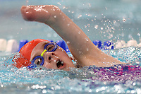 Picture by Richard Blaxall/SWpix.com - 14/04/2018 - Swimming - EFDS National Junior Para Swimming Champs - The Quays, Southampton, England - Louise Storey of Hoddesdon in action during the Women's Open 100m Freestyle