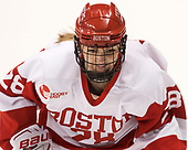 Savannah Newton (BU - 28) - The Boston College Eagles defeated the Boston University Terriers 3-2 in the first round of the Beanpot on Monday, January 31, 2017, at Matthews Arena in Boston, Massachusetts.