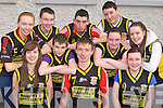 Boherbue/Kiskeam basketball team at the KDYS County Games day in Killarney on Sunday front row l-r: Claire Meehan, Timothy Murphy, Mary Murphy. Back row: Catriona McCarthy, Shane Carroll, Gerard Fitzgerald, Liam daly, Aoife Linehan, Jason Fleming and Caoimhe Meehan