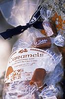 """Europe/France/Bretagne/56/Morbihan/Quiberon: Les Salidou (caramels au beurre salé et sel de Guérande) à la confiserie """"Les Niniches"""" 5 boulevard Chanard"""