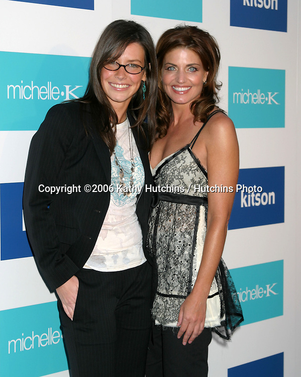 Evangeline Lilly & Michelle K.Evangeline Lilly is celebrated as the New Face of Michelle K Footwear at a party at Kitson Boutique.W. Hollywood, CA.June 15, 2006.©2006 Kathy Hutchins / Hutchins Photo....