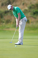Stuart Grehan (IRL) during the Home Internationals day 2 foursomes matches supported by Fairstone Financial Management Ltd. at Royal Portrush Golf Club, Portrush, Co.Antrim, Ireland.  13/08/2015.<br /> Picture: Golffile   Fran Caffrey<br /> <br /> <br /> All photo usage must carry mandatory copyright credit (© Golffile   Fran Caffrey)