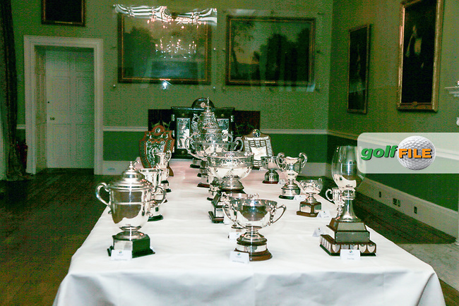 during the Golfing Union of Ireland Champions Dinner at Carton House, Maynooth, Co. Kildare. 01/02/2019<br /> Picture: Golffile | Thos Caffrey<br /> <br /> <br /> All photo usage must carry mandatory copyright credit (&copy; Golffile | Thos Caffrey)