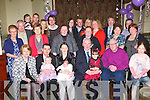 Molly McCormack Castlemaine celebrates her christening with her parents Sarah and Colin and her big sisters Katie and Abbie and her family in Griffins bar Castlemaine on Sunday..