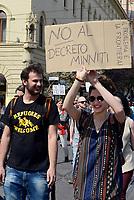 Roma, 25 Marzo 2017<br /> Corteo per una Europa solidale , democratica e accogliente, contro muri e frontiere per i migranti.<br /> La nostra Europa