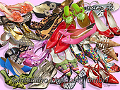 Lori, STILL LIFE STILLEBEN, NATURALEZA MORTA, paintings+++++Womans Shoes_5_w_shadows_72,USLS52,#I#, EVERYDAY ,puzzles ,collage