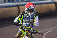 Josh Grajczonek of Poole Pirates during Poole Pirates vs Belle Vue Aces, Elite League Speedway at The Stadium on 11th April 2018