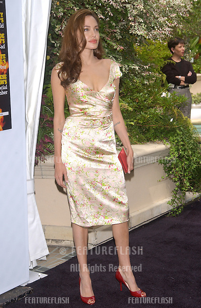 Actress ANGELINA JOLIE at the Premiere magazine 11th Annual Women in Hollywood Luncheon at the Four Seasons Hotel, Beverly Hills..September 14, 2004