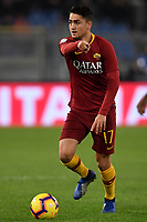 Cengiz Under of AS Roma in action during the Serie A 2018/2019 football match between AS Roma and FC Internazionale at stadio Olimpico, Roma, December, 2, 2018 <br />  Foto Andrea Staccioli / Insidefoto