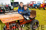 Pictured at the Iveragh Vintage Club annual field day in Waterville on Sunday were Jim & Tom Clifford from Castlecove on their 1958 Gutbrod Mini Tractor.