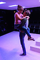 "Damsel Productions presents, Soho Young Writer Award Winner, Phoebe Eclair-Powell's play ""Fury"" at Soho Theatre. Directed by Hannah Bauer-King, with set design by Anna Reid, and lighting design by Natasha Chivers. Picture shows: Sarah Ridgeway (Sam), Alex Austin (Tom)"