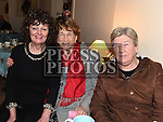 Mary Downey, Maureen Lynne and Rose Walsh at the social evening in Monknewtown Community Centre. Photo:Colin Bell/pressphotos.ie