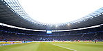 19.01.2020, OLympiastadion, Berlin, GER, DFL, 1.FBL, Hertha BSC VS. Bayern Muenchen, <br /> DFL  regulations prohibit any use of photographs as image sequences and/or quasi-video<br /> im Bild Olympiastadion ausverkauft<br /> <br />       <br /> Foto © nordphoto / Engler
