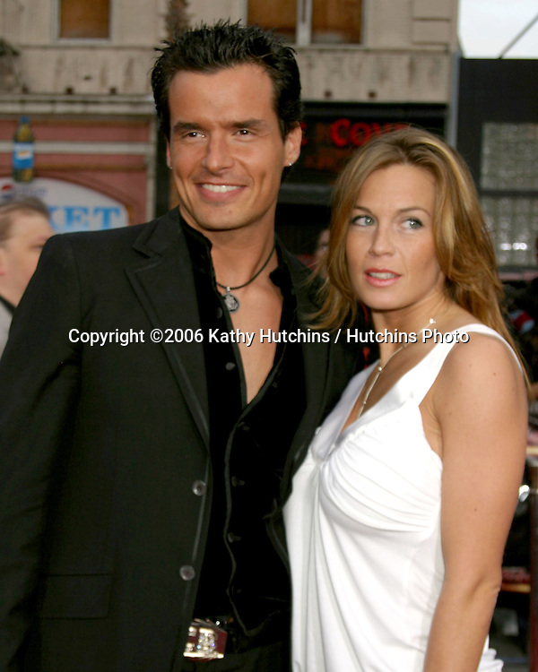 Antonio Sabato Jr and girlfriend Arriving at the.MIssion Impossible 3 Fan Screening.Grauman's Chinese Theater.Hollywood & Highland.Los Angeles, CA.May 4, 2006.©2006 Kathy Hutchins / Hutchins Photo....