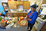 A woman who fled gang-related violence in El Salvador to seek political asylum in the United States cooks pupusas in the kitchen of a shelter where she lives in San Antonio, Texas, on November 30, 2015. The woman, who asked not to be named, fled El Salvador after her son and daughter in law were murdered. She brought two grandchildren with her, but they were taken away by immigration officials upon arrival in the U.S. Since her release she has stayed in a shelter run by the Refugee and Immigrant Center for Education and Legal Services (RAICES) and supported by a coalition of San Antonio churches. While awaiting a decision on her request for asylum, she submitted to a DNA exam in order to prove her relation with one grandchild who remained in government care.