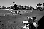 Fairfield Paceway is a 800m other horse track in Prairiewood, New South Wales, Australia that features harness racing.. Photo:(Steve Christo)