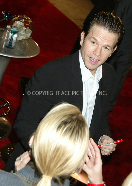 WWW.ACEPIXS.COM . . . . .  ....NEW YORK, DECEMBER 1, 2004....Mark Wahlberg at the 14th Annual Gotham Awards present by IFP/New York at Chelsea Piers.....Please byline: Ian Wingfield - ACE PICTURES..... *** ***..Ace Pictures, Inc:  ..Alecsey Boldeskul (646) 267-6913 ..Philip Vaughan (646) 769-0430..e-mail: info@acepixs.com..web: http://www.acepixs.com