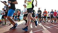 Nederland - Amsterdam - 2017 .  De start van de Marathon van Amsterdam.    Foto mag niet in negatieve context gebruikt worden.  Foto Berlinda van Dam / Hollandse Hoogte