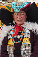 Traditional Dress in Takmachik, Ladakh