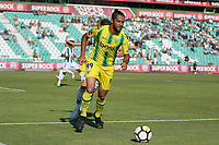 SETUBAL, PORTUGAL, 30.07.2017 - TAÇA CTT: V. SETUBAL x TONDELA - Heliardo do Tondela durante a partida de futebol a contar para a 2ª fase da Taça da Liga CTT entre V. Setúbal e Tondela, no Estadio do Bonfim em Setubal, Portugal, nesse domingo 30. (Foto: Bruno de Carvalho / Brazil Photo Press)