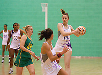 07 OCT 2009 - LOUGHBOROUGH, GBR - Emma Bliss - Loughborough Lightning v Australian Diamonds (PHOTO (C) NIGEL FARROW)