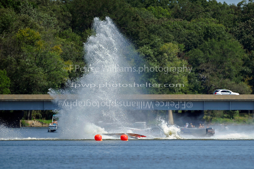 Frame 10: Dan Orchard, (#97) spins and rolls over in the East Turn. (SST-120 class)