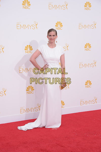 Anna Chlumsky attends The 66th Primetime Emmy Awards held at Nokia Live in Los Angeles, California on August 25,2014                                                                               &copy; 2014 Hollywood Press Agency<br /> CAP/DVS<br /> &copy;DVS/Capital Pictures