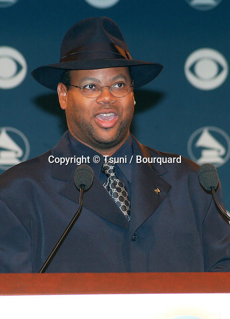 Jimmy Jam at 44th Grammy nominee press conference at the Beverly Hilton Hotel in Los Angeles Friday, Jan. 4, 2002. JimmyJam35.jpg