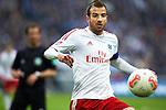 Duitsland, Gelsenkirchen, 28 april  2013.Seizoen 2012-2013.Bundersliga.FC Schalke 04 - Hamburger SV.Rafael van der Vaart van Hamburger SV in actie met de bal