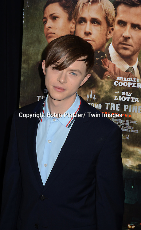 """actor Dane Dehaan attends Focus Features' """"The Place Beyond The Pines""""  New York Premiere on March 28, 2013 at The Landmark Sunshine Cinema in New York City."""