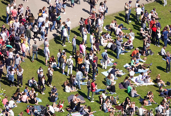 Nederland Rotterdam 2018.  Bevrijdingsfestival op 5 mei in Het Park. . Foto Berlinda van Dam / Hollandse Hoogte