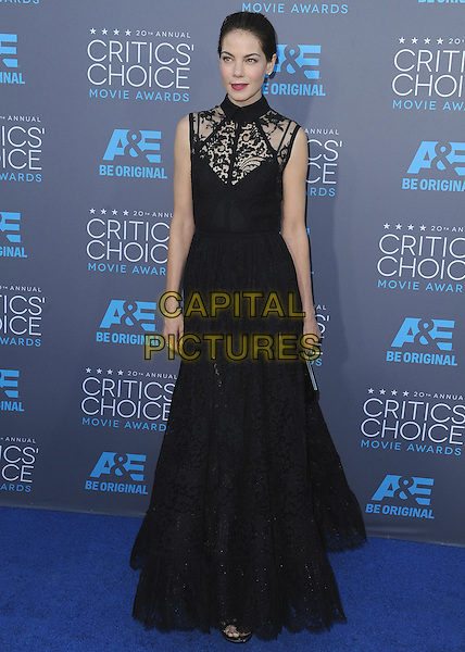 LOS ANGELES, CA - JANUARY 15:  Michelle Monaghan at the 20th Annual Critics' Choice Movie Awards at the Hollywood Palladium on January 15, 2015 in Los Angeles, California.  <br /> CAP/MPI/PGSK<br /> &copy;PGSK/MediaPunch/Capital Pictures