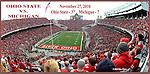 Ohio State Stadium print